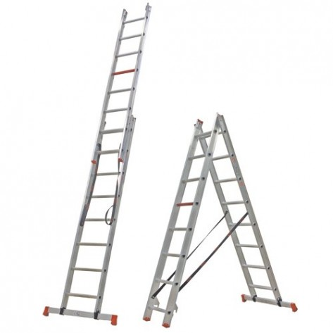Altrex ladder 2x8 dubbele ladder