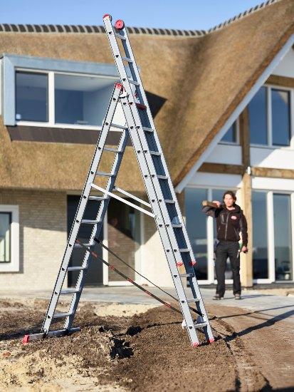 Ladder voor het leeghalen van uw dakgoot (particulier gebruik)