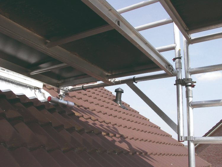 Veilig werken aan uw dakkapel met een uitwijkconsole