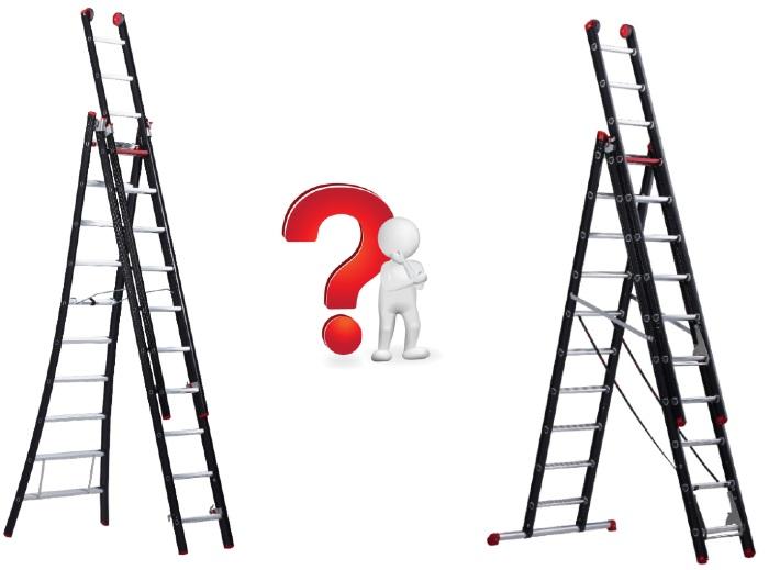 Altrex ladder kopen? Wat is het verschil tussen de Mounter en Nevada?
